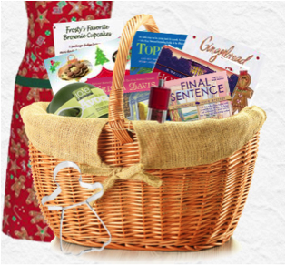 Picture of the contest basket.