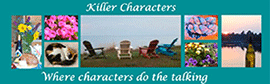 Clickable link to Killer Characters blog.